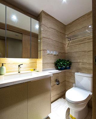 89平简约小三室小卫生间装修设计