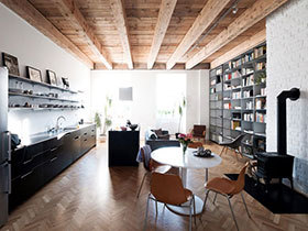 工业风与日式融合  个性的空间设计