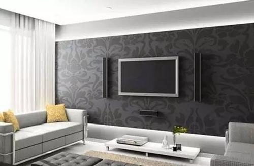 电视背景墙效果图 客厅装修全靠它