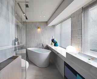 浴室装修平面图