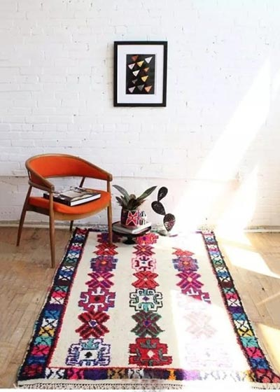 民族风地毯装修装饰效果图