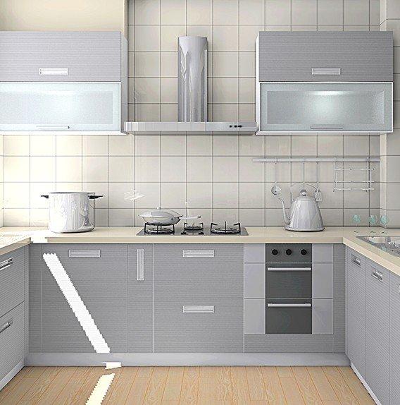 厨房瓷砖装修效果图 温馨家装案例
