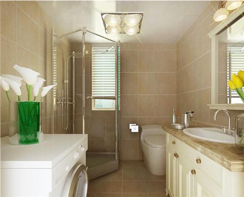洗手间装修效果图 教您几招玩转卫生间装修