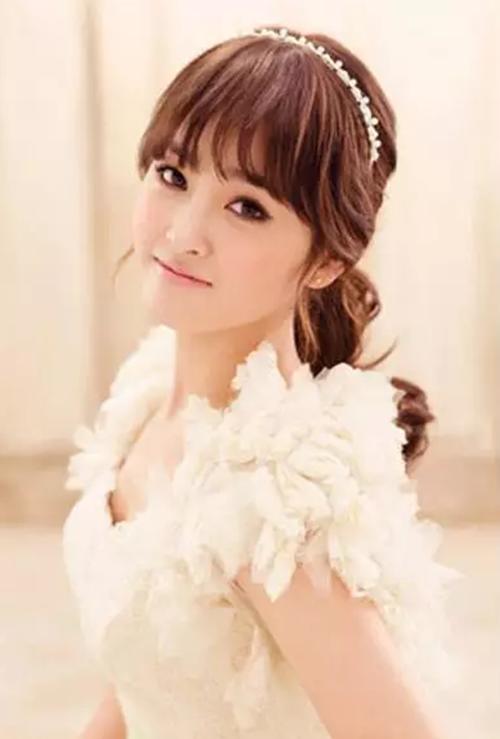 齐刘海新娘发型怎么样 适合结婚的新娘发型