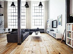 75平小户型loft装修效果图 摩登时尚新居