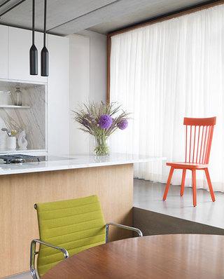 混搭风格公寓装修厨房吊灯图片