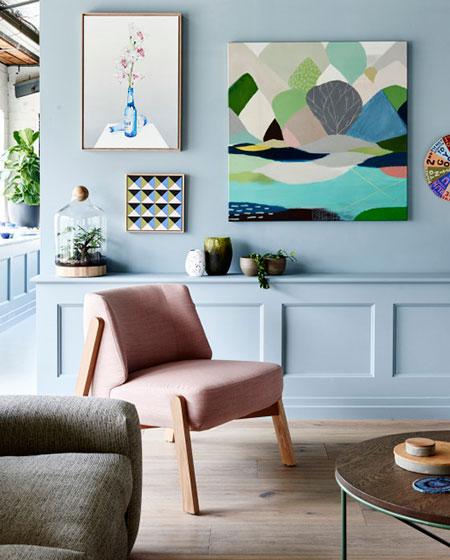 北欧风格客厅单人沙发设计