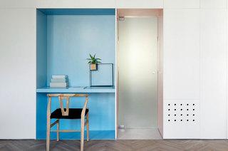 55平小两居室书房壁橱装修效果图