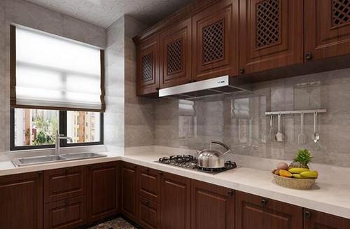 新中式厨房装修效果图 新中式厨房带来新感觉