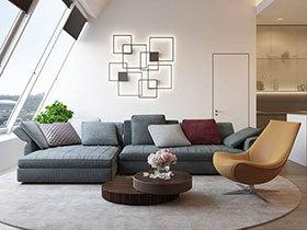 顶层的风光  带阁楼的现代简欧风格装修
