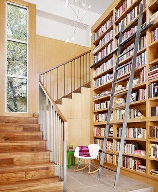 楼梯书架收纳装装饰图片