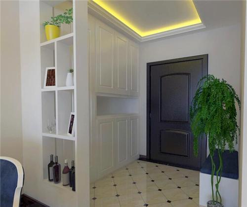 关于它的装饰设计有很多案例,下面我们就来看一些 玄关柜效果图吧!