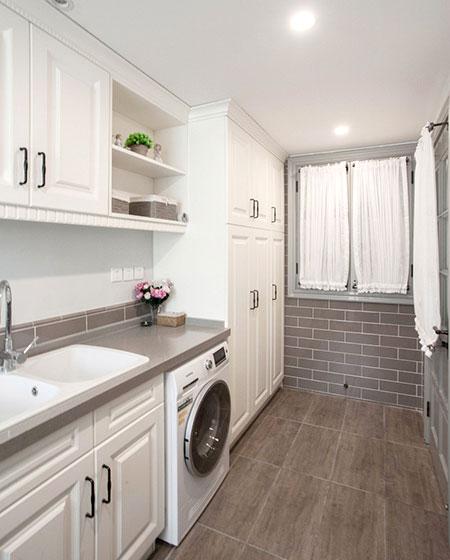 240平复式楼装修洗衣房效果图