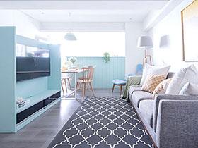 76平米小三房装修设计图 享受亲子时光
