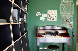 99平二居室装修黑板墙装修