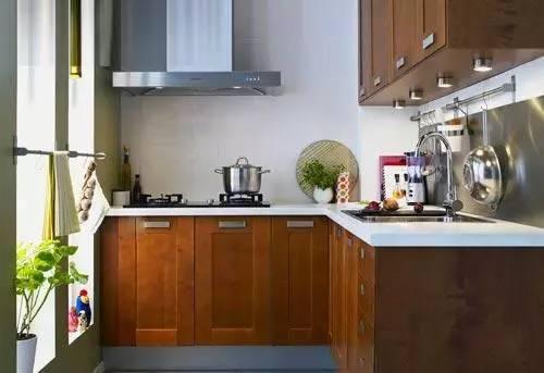2016小户型厨房装修效果图大全 小户型厨房设计方案