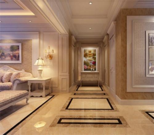 过道地砖拼花效果图 过道地砖为您的居室增添光彩图片