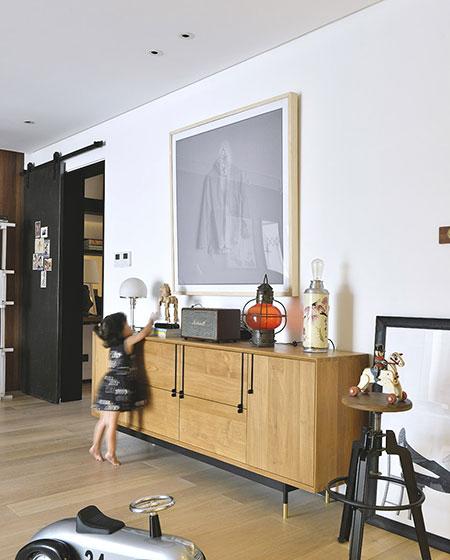 160平简约公寓装修展示柜设计