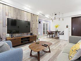 80㎡北欧风公寓图片  用爱刷新家
