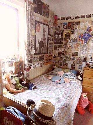 卧室背景墙设计平面图