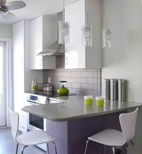 小户型厨房装修效果图大全 5平米厨房这样装很窝心