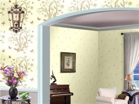 液态壁纸效果图 液体壁纸让家居焕然一新