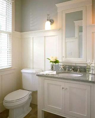 卫生间大理石洗手台图片
