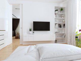 白色卧室装修设计图