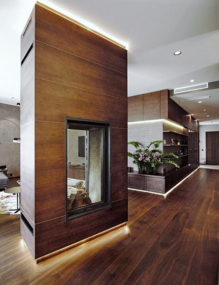 现代风格走廊设计i参考图片