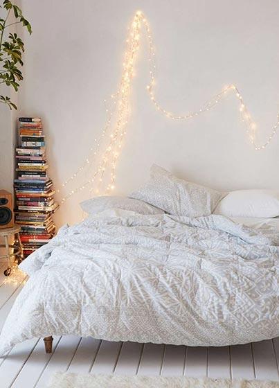 白色系卧室欣赏图片