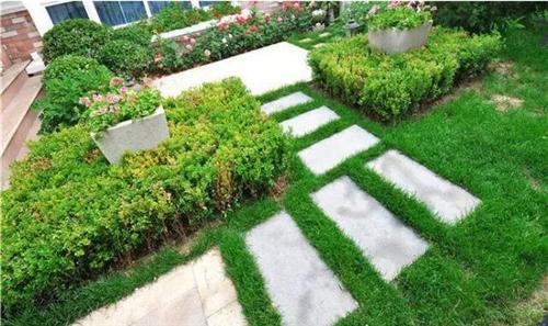 别墅花园装修效果图 别墅花园让家充满自然的气息