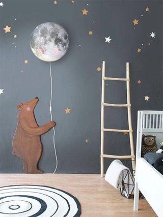儿童房创意壁纸欣赏图