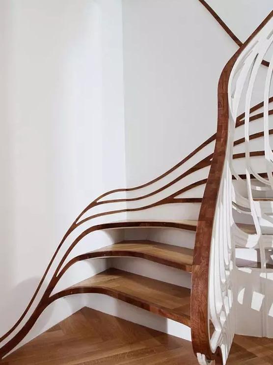13个超有创意的室内楼梯设计!你确定都敢走?