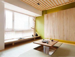 榻榻米茶室设计实景图