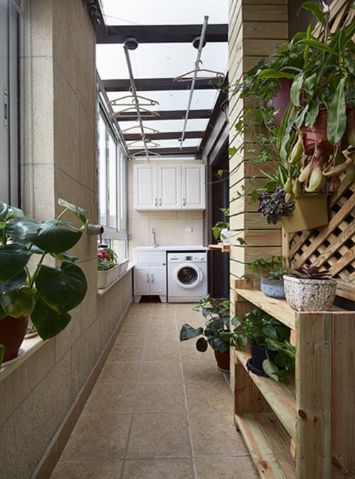 室内阳台装修设计效果图 5款温馨优雅的室内阳台设计图片