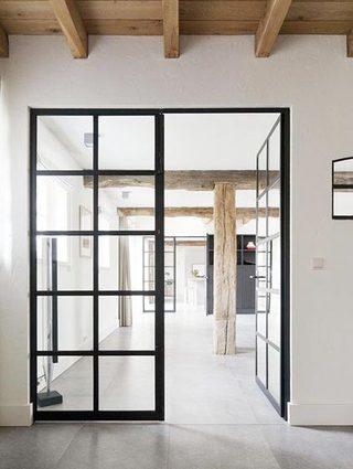 玻璃隔断门设计装修效果图
