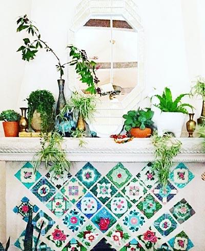 走廊植物设计构造图片