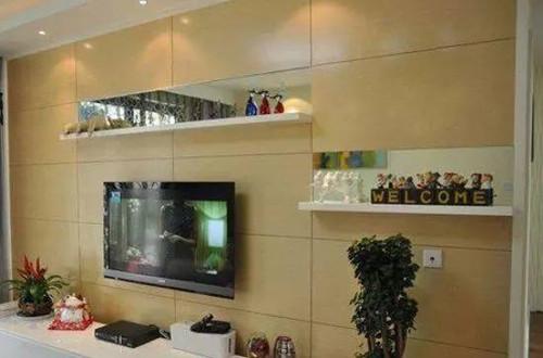 2016电视背景墙装修效果图大全欣赏