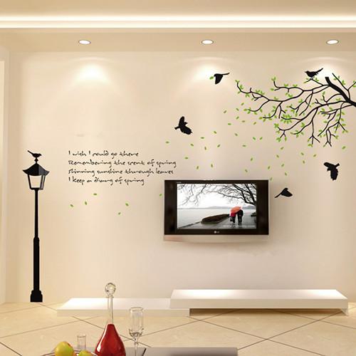 现代简约风格电视背景墙效果图欣赏