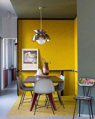 90平小公寓装修餐厅吊灯设计图
