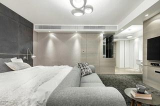 简约风格四房装修主卧室设计