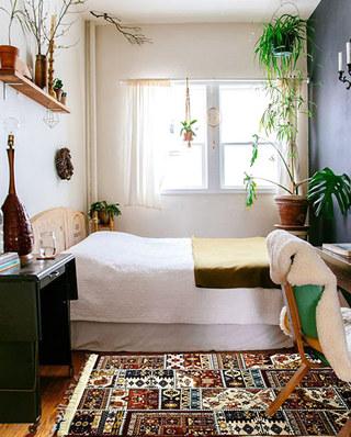11个卧室地毯效果图 舒适温暖从地面开始6/12