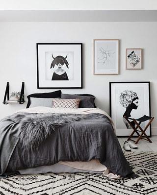 11个卧室地毯效果图 舒适温暖从地面开始7/12