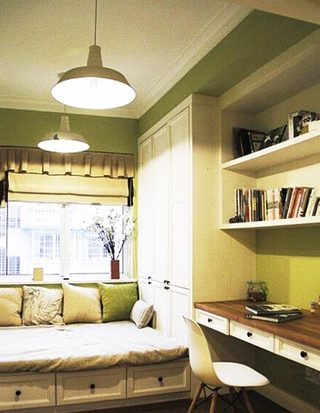 书房榻榻米设计装修图片