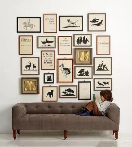 客厅照片墙图片大全