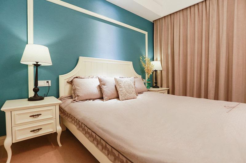 120平美式田园三居主卧室设计