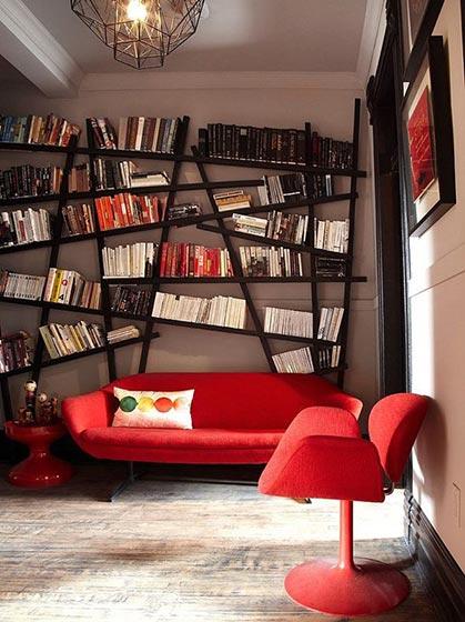 现代风书房设计图片大全