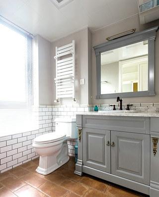 188平北欧风格公寓主卫生间装修