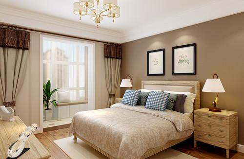 法式卧室装修效果图四