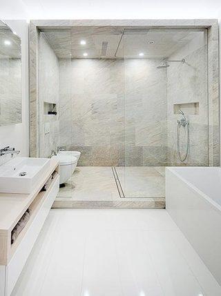 豪华浴室装修效果图